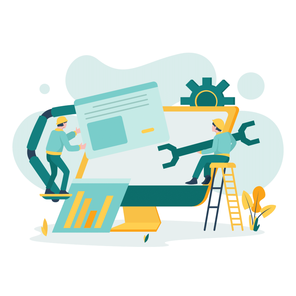 Pngtree—system maintenance illustration concept  4853430
